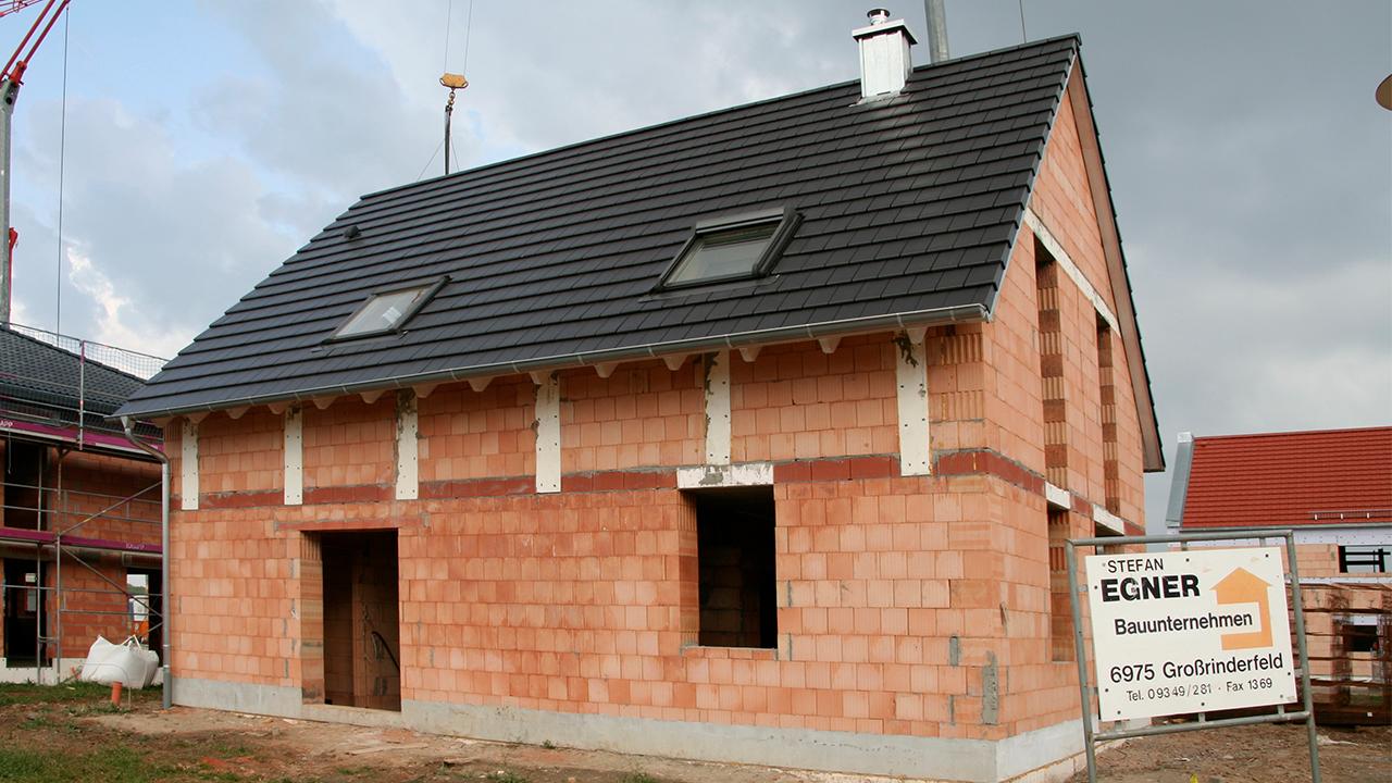 Egner Bauunternehmen Grossrinderfeld Rohbau