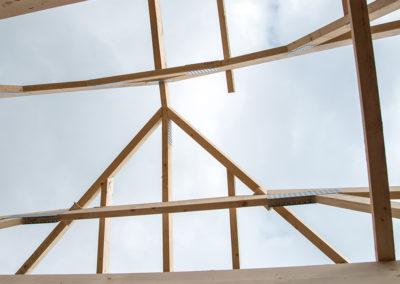 Egner Bau Impressionen Dachstuhl